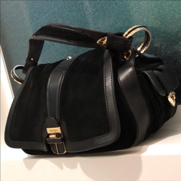 31e185680a17 Jimmy Choo Handbags - ❌SALE❌ Jimmy Choo Black Suede Shoulder Bag